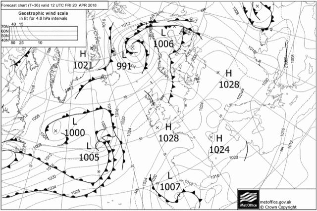 Curso: Lectura de mapas meteorológicos