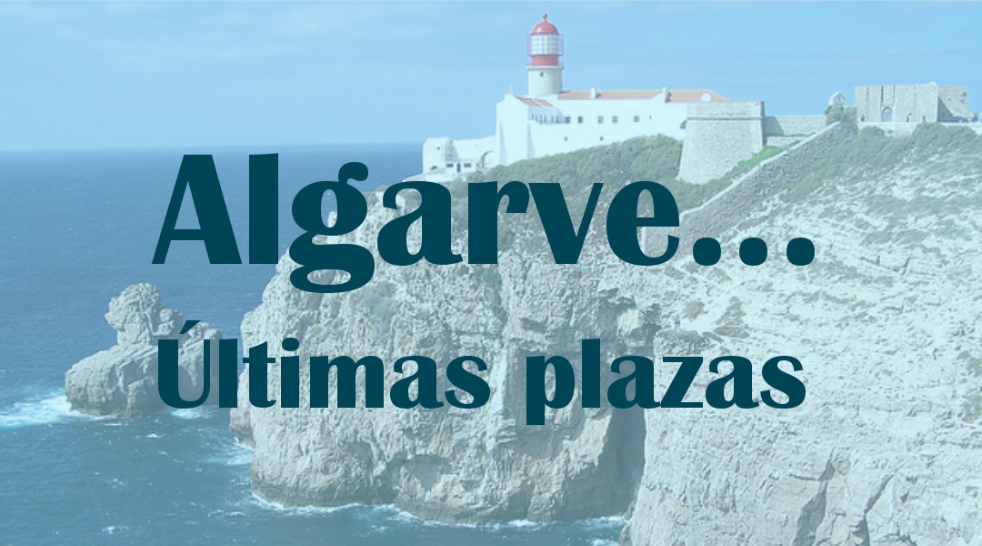 Algarve: Últimas plazas