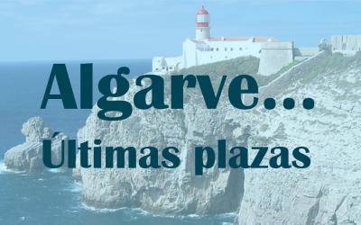 Algarve: Últimas plazas