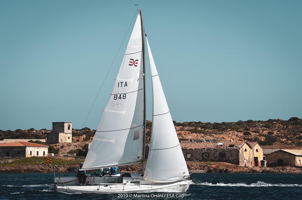 CINA en la regata ESA CUP 2019