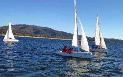 Curso de regatas en el Atazar